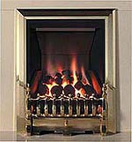 Be-Modern Challenger One Inset Brass Gas Fire