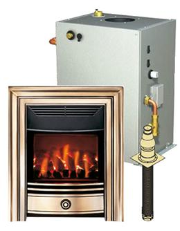Baxi Bermuda & Classica Brass Back Boiler Units Pack